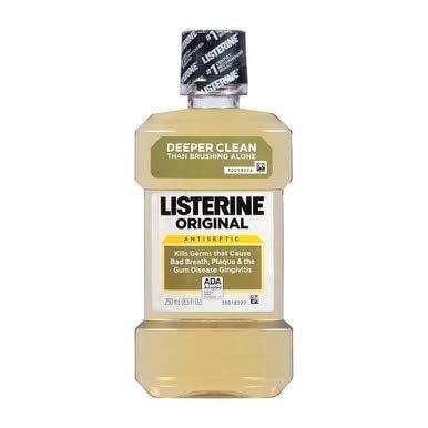 Listerine (250 Ml) Size 8.5z Listerine Antiseptic Mouthwash