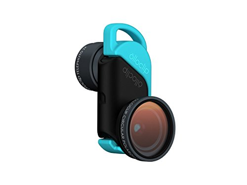 olloclip — TELEPHOTO with WIDE-ANGLE and MACRO LENS SET + CPL for iPhone 6/6s and iPhone 6/6s Plus Premium Glass Lenses by Olloclip (Image #4)