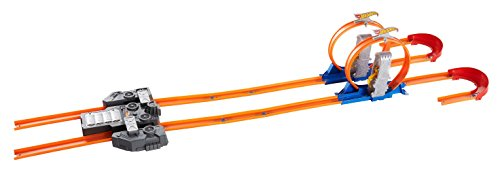 Hot Wheels Track Builder Total Turbo Takeover Track Set [Amazon Exclusive]
