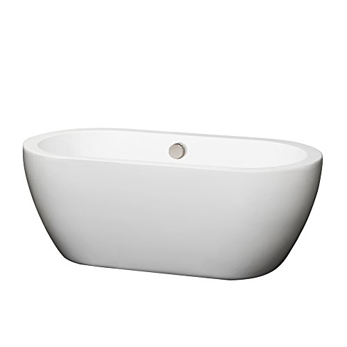 If Youu0027re Looking For A Soaking Tub That Is Elegant And Freestanding, Then  This Freestanding Bathtub From The Wyndham Collection Will Be A Perfect Fit  For ...