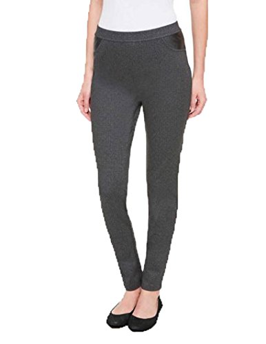 DKNY Womens Ponte Pants (Small) (Dkny Womens Pants)