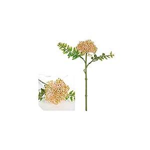 V-K-YA 30cm Artificial Flower Branch Wedding Bridal Holding Fake Flower for Home Party Garden Decoration,Pink 82