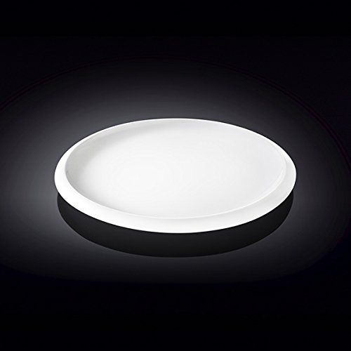 Wilmax 991234 7 in. Dessert Plate44; White - Pack of 48