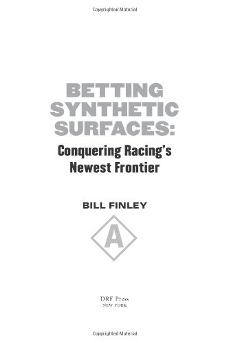 Betting Synthetic Surfaces: Conquering Racing's Newest Frontier pdf