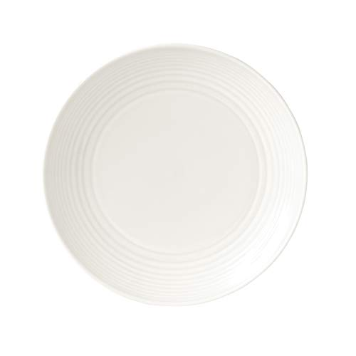 "Royal Doulton maze Salad plate, 8.6"", White"