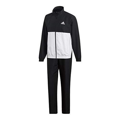 adidas Men's Club Tracksuit Black/White Medium
