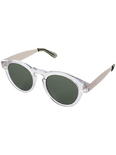 Komono Clement Metal Series Clear/Silver Sunglasses - Komono Sunglasses
