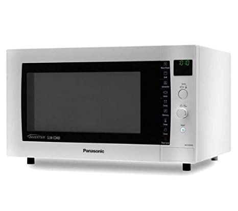 PANASONIC Horno microondas NN-CD560MEPG - Plateado: Amazon ...