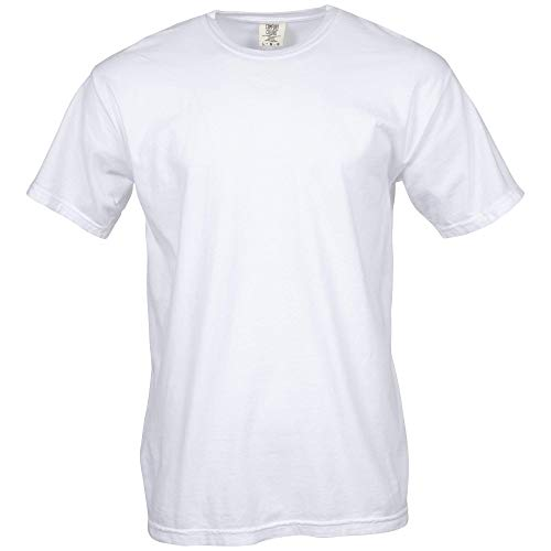 Comfort Colors Men's Adult Short Sleeve Tee, Style 1717, White, 3X-Large ()