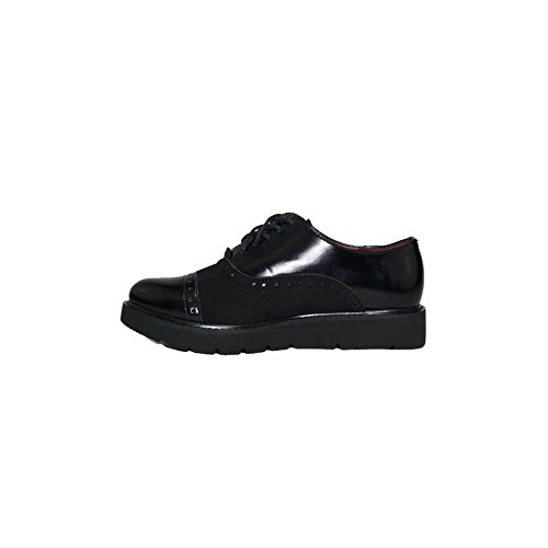 Derby nbsp;Negros Zapatos Mujer Marr de 59393 VATINERIS Negros Mujer U1qwUd