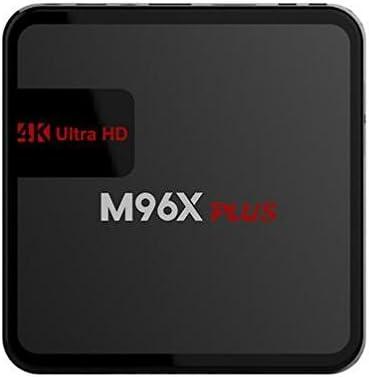 M96X Plus Android 6.0 TV Box 2 GB DDR3 16 GB Flash Quad Core Amlogic S905X Wireless Wifi con Bluetooth Smart Media Player: Amazon.es: Belleza