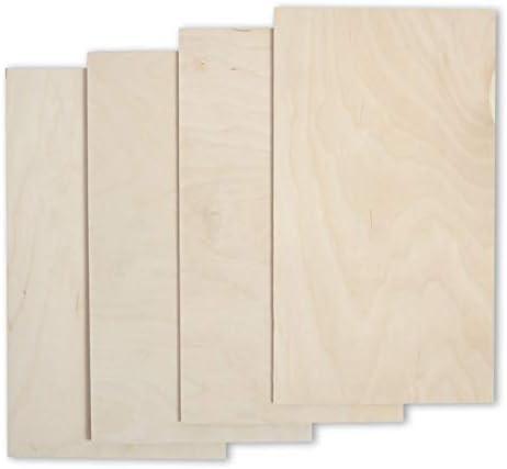 4 mm Multiplexplatte Zuschnitt Sperrholz-Platten Holz Massiv Naturfarbe unbehandelt Breite 55 cm L/änge 90 cm