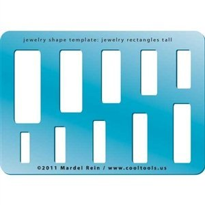 Jewelry Rectangles Tall Cool Tools Jewelry Shape Template