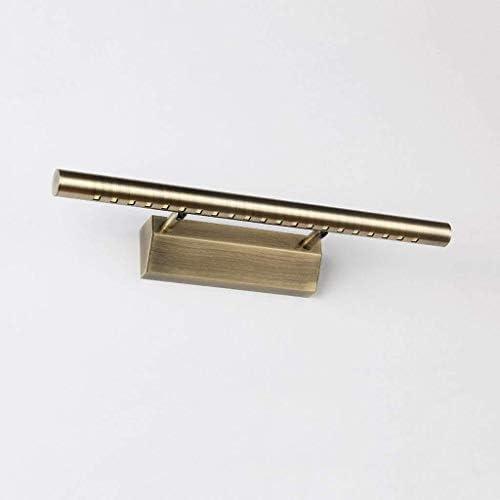 RRFFVV Spiegel-Frontlicht führte einfaches europäisches Spiegelkabinettlicht Badezimmerbadezimmer besonders Dickes Spiegelkastenlicht Grünes Bronze-Spiegelscheinwerfer