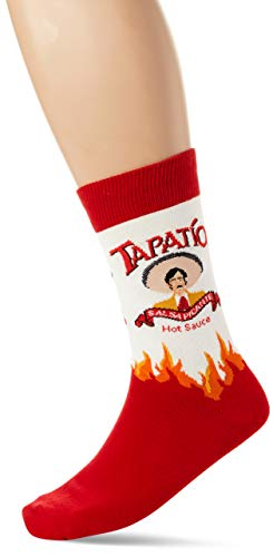Socksmith Men's Novelty 'Tapatio' Crew Socks, White, One Size