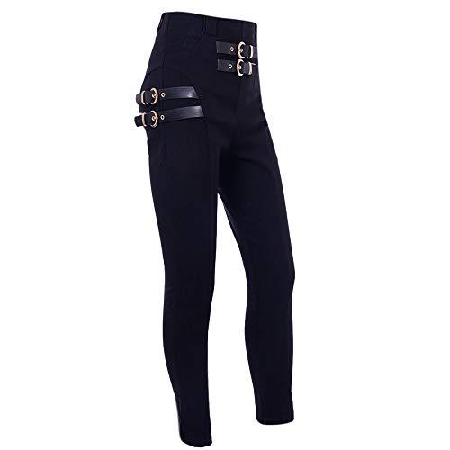 Jean Trousers Femme Hiver Soldes Pantalon Longueur overdose Pantalons Stretch Sexy Taille Haute Skinny Ajustée Noir 8nwvm0yNO