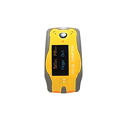 Yellow Bear Digital Finger Pulse Oximeter for children (Sports/Home Use) (Pulse Oximeter Digital)