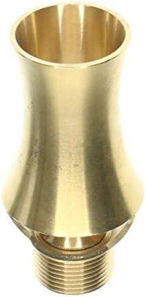 ZXYAN Verstellbare Jet Wasser-Spray-Kopf 1/2 Zoll-Messing Cedar Brunnen-Düse