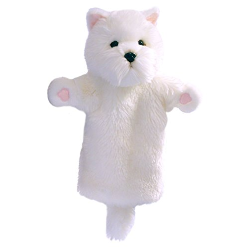 (The Puppet Company Long-Sleeves West Highland White Terrier Hand Puppet)
