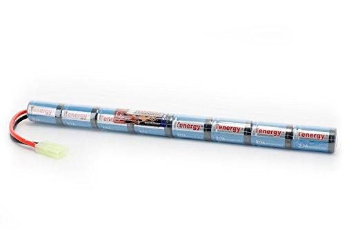 9.6V NiMH 1600mAh Stick Mini Battery Pack by Tenergy