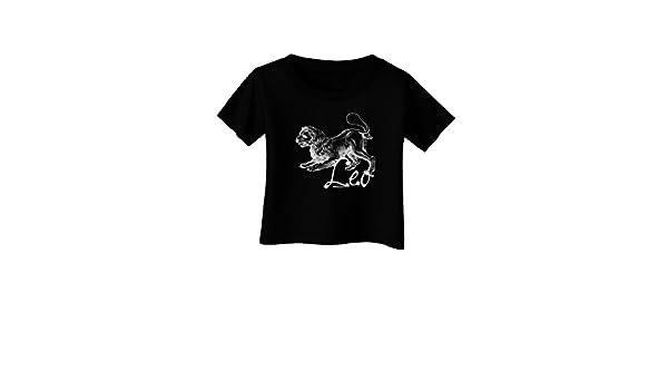 TooLoud Leo Illustration Infant T-Shirt Dark
