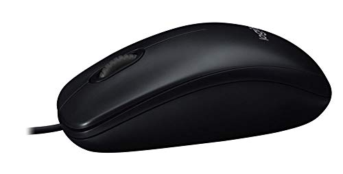 0e255827d6b Logitech M100 Corded Mouse – Wired USB Mouse for Computers and Laptops, for  Right or
