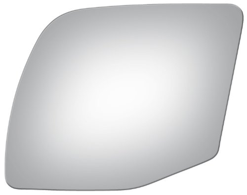 (Flat Driver Left Side Replacement Mirror Glass for 1994-2004 Ford Truck Econoline)