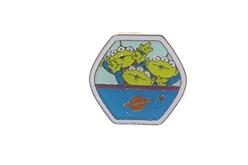 Price comparison product image Hong Kong Disney Fun Day 2015 Hidden Mickey Magical Ferris Little Green Men Only Pin