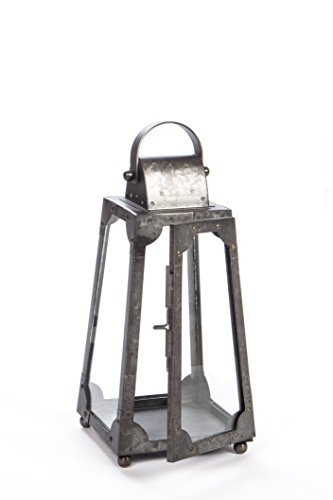 H Potter Decorative Lantern and Rustic Candle Holder