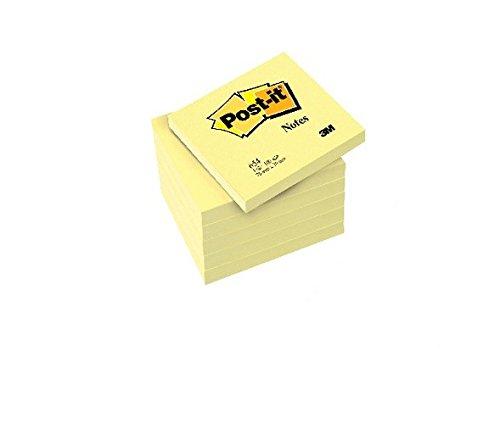 PACK PROMOCIONAL 24+12 BLOC DE NOTAS ADHESIVAS QUITA Y PON POST-IT 76X76MM