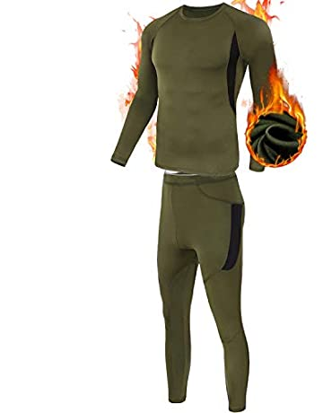 ee388e0f7fa MEETYOO Men's Thermal Underwear Set