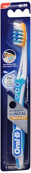 Oral-B Pro-Health Clinical Pro-Flex Toothbrush Compact Head Medium - 1 Each, Pack of 6