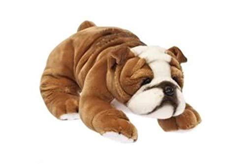 red bulldog stuffed animal - 5