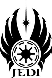 Star Wars - Jedi Logo Sticker/Decal
