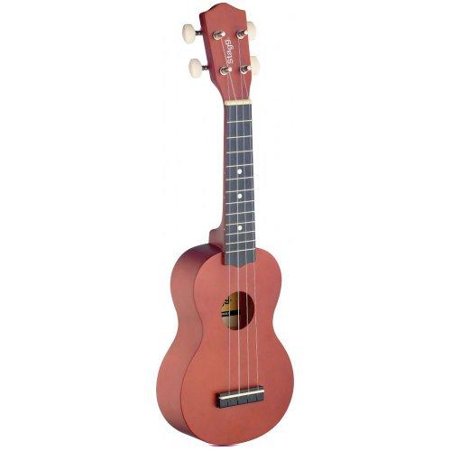 Ukulele soprano naturel avec housse en nylon noir tout for Housse ukulele