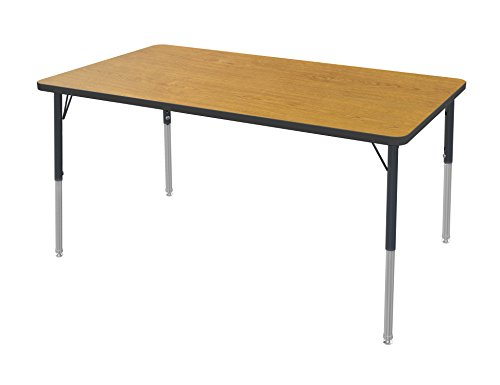 Marco Group Rectangle Adjustable Height Activity Table, 36