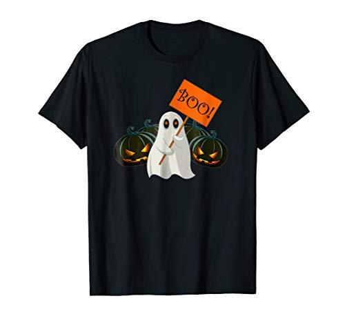 Boo Pumpkin Funny Halloween costume Tee Gift For kids adults