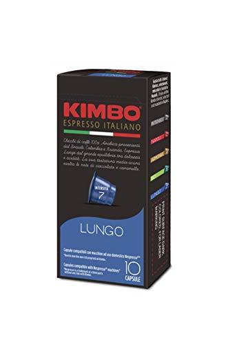 Kimbo Lungo Nespresso Compatible 100 Capsules NEW FLAVOR
