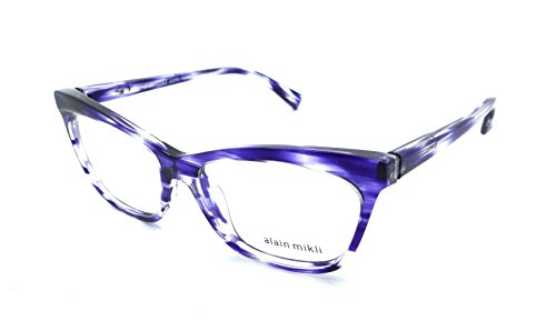 51f131694fd Alain Mikli Rx Eyeglasses Frames A03059 001 54-15-140 Paint Blue Made in