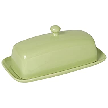 Now Designs Butter Dish, Mint