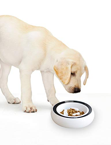 PETGEEK Digital Dog Bowl Scale-Slow Bowl Feeder Calculating Weight, Slow Feed Dog Bowls Set of 2 Replacement Dog Feeder…