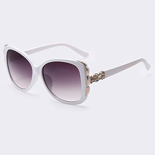 C06 Moda anteojos marco C06 de Gafas TIANLIANG04 de estilo sol Gafas UV400 gafas gafas cuadrados grandes de degradado de señora Mujer veraniego hembra TI1vqv
