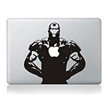 AsAir Comic Book Characters Vinyl Decal Sticker Art for Apple MacBook Pro/Air - Iron Man 13 inch