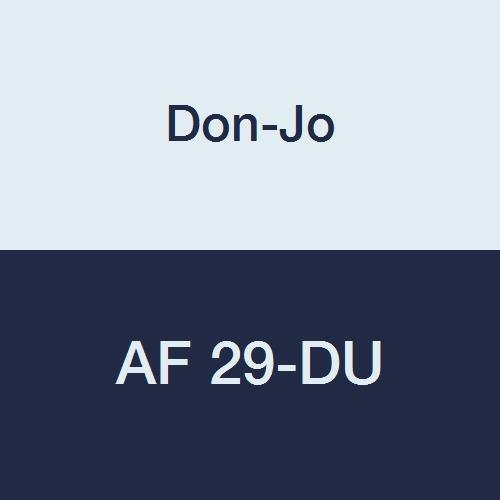 Don-Jo AF 29 13 Gauge Steel Electric Strike Filler Plate Duro Coated 1-3//8 Width x 9 Height Pack of 10