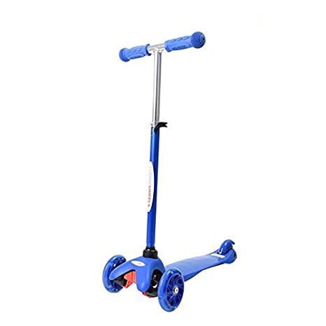 Amazon Com Younger Scooter For Kids 3 Wheel Adjustable Height