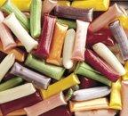 Chocolate Filled Straws - Peerless Hard Candy