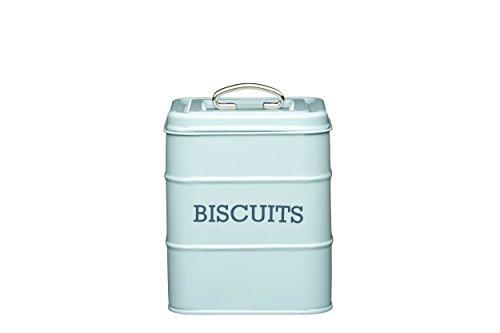 Kitchencraft Living Nostalgia Biscuit Tin, Light Blue, 14.5 x ()