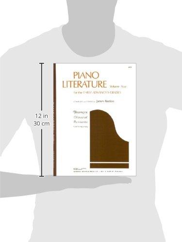 GP57 - Piano Literature - Volume 4 - Bastien (Music Through the Piano)