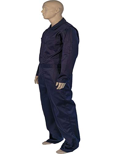 X LARGE FLAME RESISTANT NAVY COVERALLS by Toledano industries (Image #2)