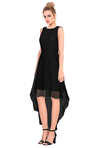 fe5ee026788e Women s Western Wear High Low Georgette Skater Dress (D Burger ...